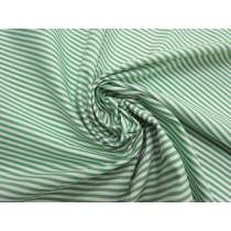 3mm Stripe Cotton Blend- Mint Green #5258