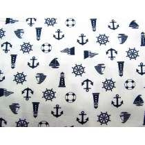 Nautical Notions Cotton- White