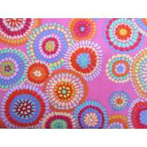 Kaffe Fassett Mosaic Circles- Pink
