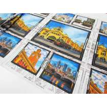 Melbourne Sights Cotton- 61cm Panel #8086-K
