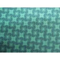 Aussie Bush Christmas Cotton- Turquoise #0125-F1