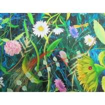 Flower Jewels Cotton- Garden #04259-MU