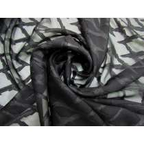 Lightning Strike Chiffon- Black #5260