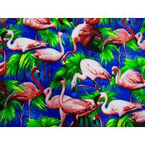 Flamingo Cotton- Royal