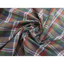 Harvest Check Cotton Blend Woven #3720