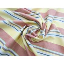 Stripe Cotton Shirting- Fall Colours #3727
