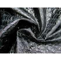 Mystical Scales Brocade- Dragon Black #3748