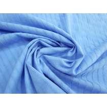 Sheer Stripe Soft Cotton- Ocean Pool #1560