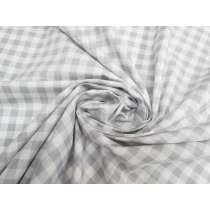 Gingham Cotton- Grey #5344