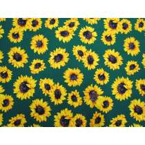 Sunflower Stunner Cotton- Green #5368