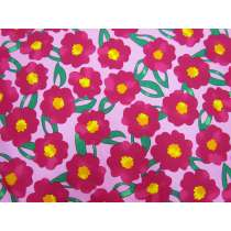Pop Flower Cotton- Pink #5375