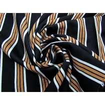 Dapper Stripe Viscose Blend Woven #3864