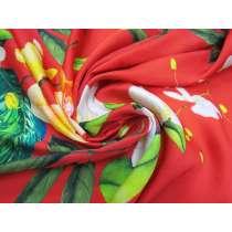 Fiesta Floral Satin Chiffon #3870