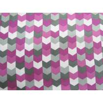 Kinetic Cotton- Arrows- Purple