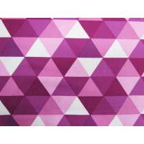 Kinetic Cotton- Triangles- Purple