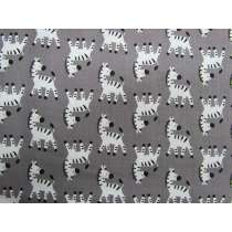 Zebra Cotton- Grey #3888