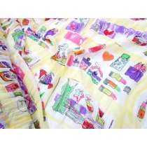 Girly Gifts Chiffon- Yellow