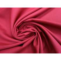 Viscose Blend Twill Suiting- Crushed Cranberry #3929