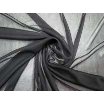 *Seconds* Stretch Chiffon- Dappled Black #1748