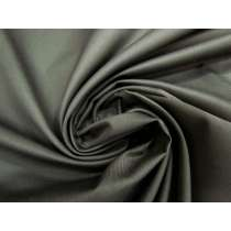 Viscose Blend Twill Suiting- Carbon #3950