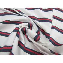 Coastline Stripe Lightweight Stretch Woven #1760