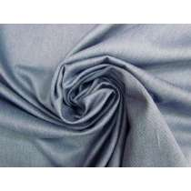 Cotton Wool Blend Gaberdine- Smokey Blue #3960