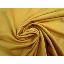 Wide Unbrushed Fleecy- Warm Mustard #4070