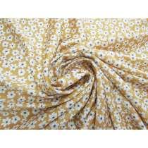 Golden Daisy Silk Satin #4074