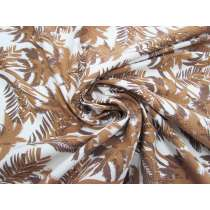 Bronzed Palm Stretch Rayon Cotton #4079