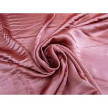 Textured Viscose Satin- Dusky Blush Pink #4089