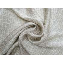 Subtle Stone Textured Viscose Satin #4081