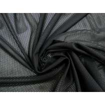 Polyester PBT Sports Mesh- Black #4091