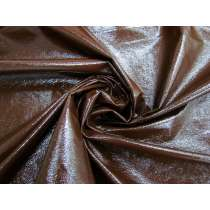 Crinkle Look PVC Vinyl- Chocolate Syrup #4108
