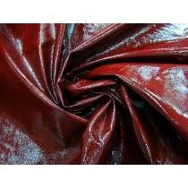 Crinkle Look PVC Vinyl- Rosewood Red #4109