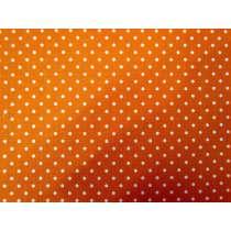 Riley Blake Swiss Dots- Orange