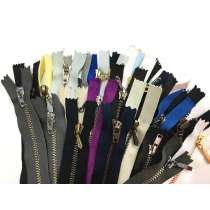 Lucky Dip 40 Pack of Metal Zippers- 6-20cm