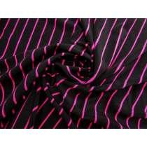 Retro Stripe Stretch Terry Knit #4127