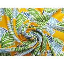 Tropical Gold Silk Satin #4148