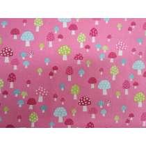 Flo's Garden- Pink Mushrooms