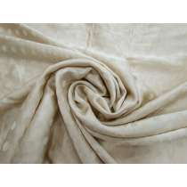 Self Spot Satin Viscose Blend- Golden Beige #4182