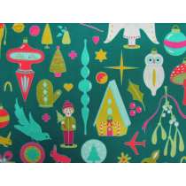Alison Glass- Holiday- Kitschy in Brite