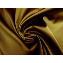 Double Faced Bonded Stretch Satin- Bronze / Rust #4200