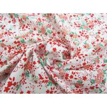 Festive Floral Stretch Cotton #1881
