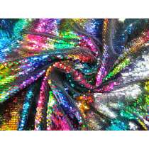 Rainbow On, Rainbow Off- Reversible Stretch Sequins #4209