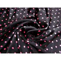 Veronica Spot Textured Viscose Satin #4219