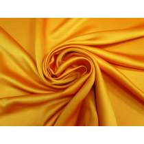 Viscose Blend Satin- Saffron Gold #4224