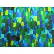 Brush Strokes Cotton- Blue #4244