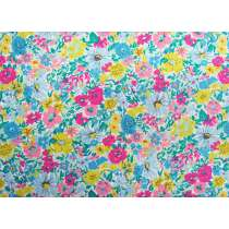 Liberty Cotton- Malvern Meadow- Summer Brights- Flower Show Summer Collection