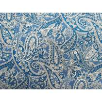 Bountiful Paisley- Denim Blue #4257