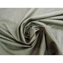 Soft Wool Cotton Blend Twill- Dried Sage #4270